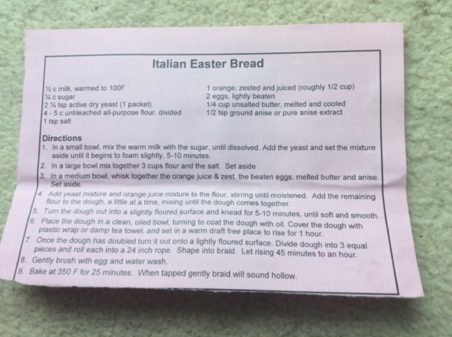 Favourite recipes - Easter Cake