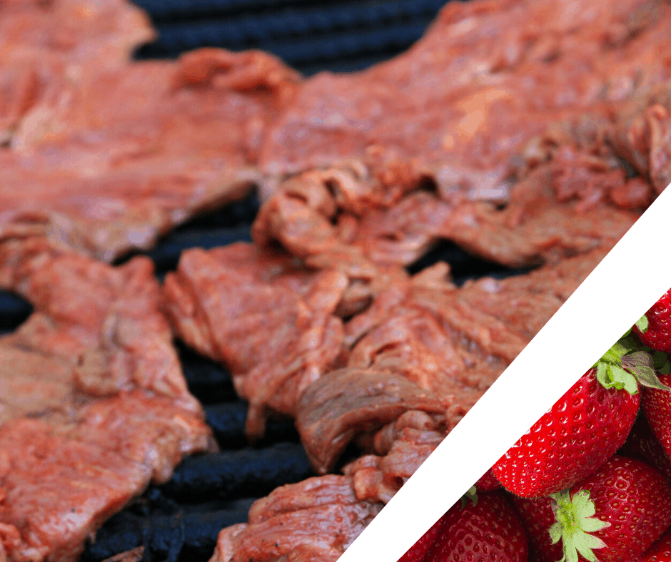 Favourite Recipes - Steak & Strawberries