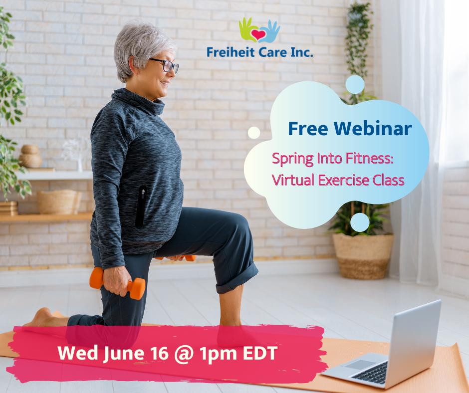 Virtual Exercise Class